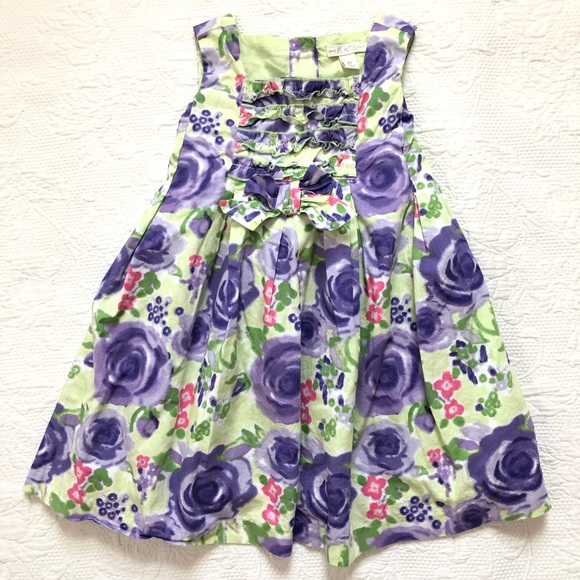 The Children's Place Spring Easter floral dress 3T